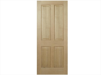 Regency 4 Panel Oak Door (Imperial)