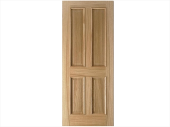 Regency 4 Panel RM2S Oak Door (Imperial)