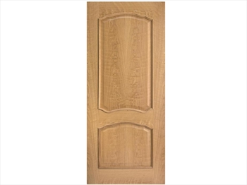 Louis RM2S Oak Door (Metric)