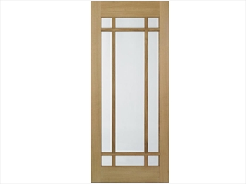 Lyon Glazed Oak Door (Imperial)