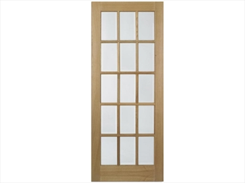 SA Glazed 15L Glazed Oak Door (Imperial)