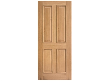 Regency 4 Panel RM2S White Oak Door (Imperial)
