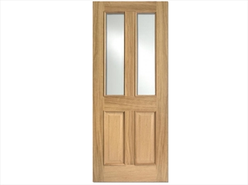 Richmond Glazed RM2S White Oak Door (Imperial)