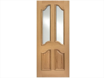 Richelieu Glazed RM2S White Oak Door (Imperial)