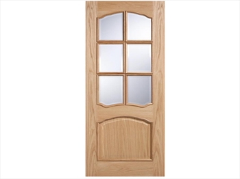 Riviera Glazed RM2S White Oak Door (Metric)