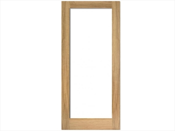 Unglazed Pattern 10 White Oak Door (Imperial)
