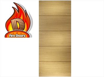 Santandor Oak Fire Door (Imperial)