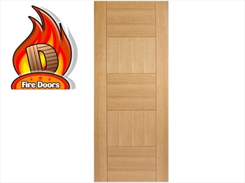 Quebec Oak Fire Door (Imperial)