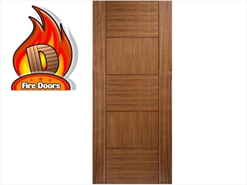 Quebec Walnut Fire Door (Imperial)