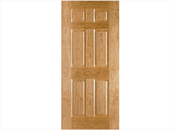 Oak Moulded 6 Panel Door (Imperial)