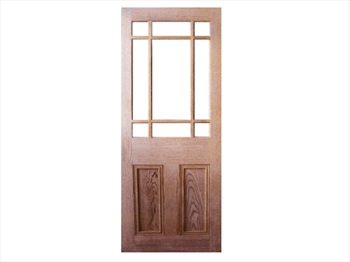 Downham Unglazed Pitch Pine Door (Imperial)
