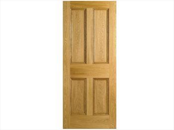 4 Panel Oak Door (Imperial)