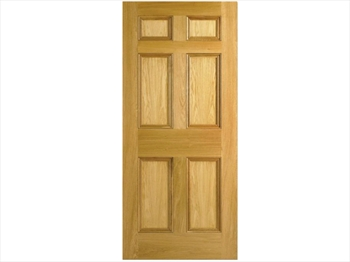 6 Panel Oak Door (Imperial)