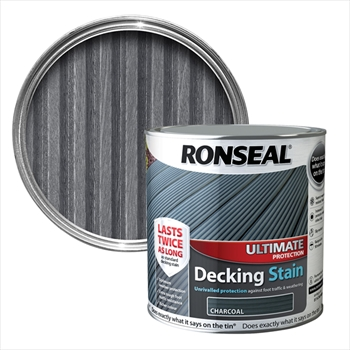 Ronseal Ultimate Protection Decking Stain 2.5L (Charcoal)