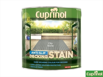 Cuprinol Deck Stain Ultra Tough City Stone (2.5 litre)