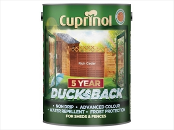 Cuprinol 5 Years Ducksback Autumn Brown (5 Litre)
