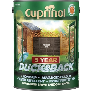 Cuprinol 5 Years Ducksback Forest Oak (5 Litre)