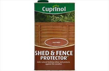 Cuprinol Shed & Fence Protector Golden Brown (5 Litre)