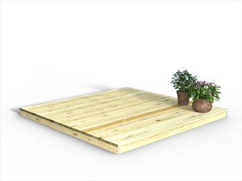 Chunky Easy Deck Kit 2.4m x 2.4m (No Handrails)