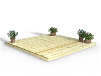 * Chunky Easy Deck Kit 3m x 3m (No Handrails)