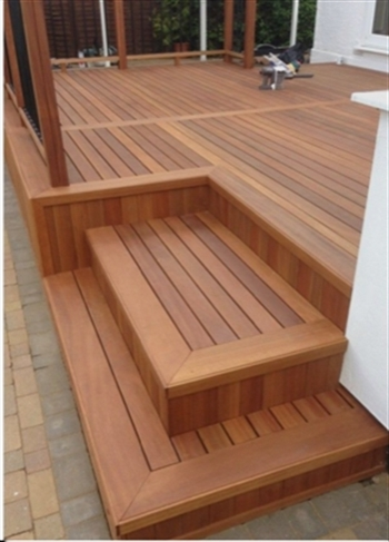 Hardwood Balau Decking (90mm x 19mm)