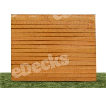Premium Overlap Fence Panel (6ft x 3ft)