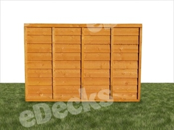 The UK's Strongest Overlap Fence Panel (6ft x 2ft)