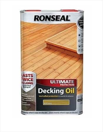 Ronseal Ultimate Decking Oil 5L (Natural)