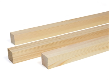 Planed Square Edge Timber (75mm x 75mm)