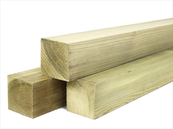 Treated Planed Square Edge Timber (75mm x 75mm)