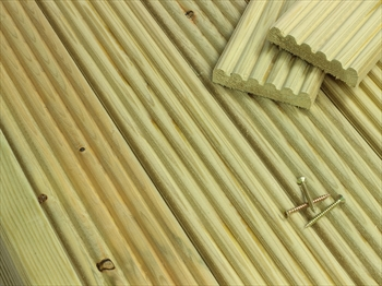 SAMPLE - Discount Decking  (84mm x 19mm)