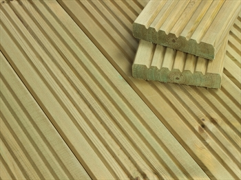 Standard Redwood Decking (120mm x 28mm)
