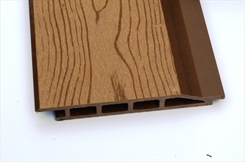 Cut To Size - Oak Bark Effect Composite Cladding (165mm x 22mm)