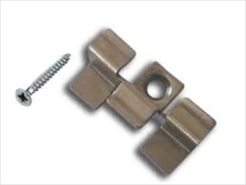 Composite Fixing Clip - Stainless Steel & Screw (Solid Board)