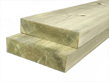 Treated Planed Square Edge Timber (200mm x 50mm)