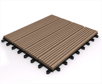 Composite Deck Tile - Oak 295mm x 295mm