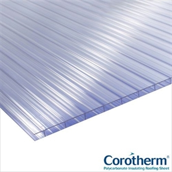 Clear 10mm Corotherm Multiwall Polycarbonate