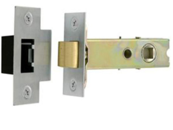 Mortice latch 3""
