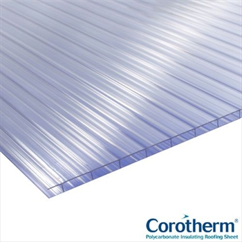 Clear Multiwall Polycarbonate 10mm (3500mm x 700mm)