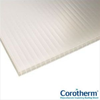 Opal Multiwall Polycarbonate 16mm (7000mm x 1050mm)