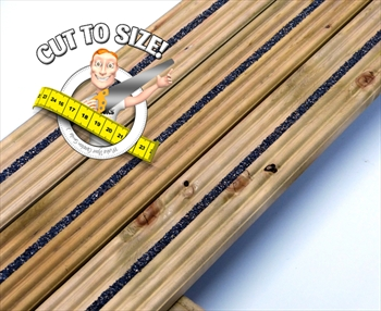 * Cut To Size * eDecks Anti Slip Discount Decking (84mm x 19mm)