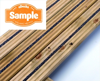 Sample - eDecks Anti Slip Discount Decking (84mm x 19mm)