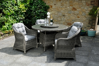 Classic Roma 4 Seater Dining Set