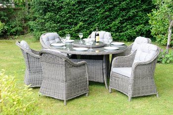Classic Roma 6 Seater Dining Set