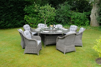 Classic Roma 8 Seater Dining Set