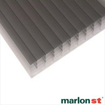 Heatguard Opal Multiwall Polycarbonate 25mm (3000mm x 1600mm)