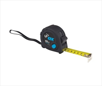 OX Trade Tape Measure (8m)