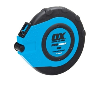 OX Pro Closed Reel Tape Measure (30m / 100ft)