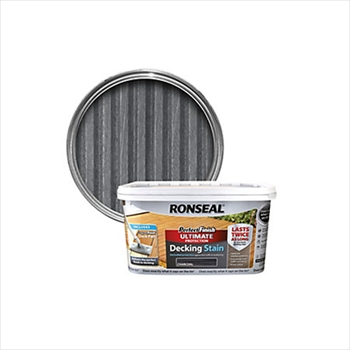 Ronseal Perfect Finish Ultimate Protection Decking Stain 2.5 Litre (Charcoal)