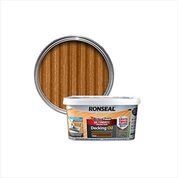 Ronseal Perfect Finish Ultimate Protection Decking Oil 2.5 Litre (Teak)